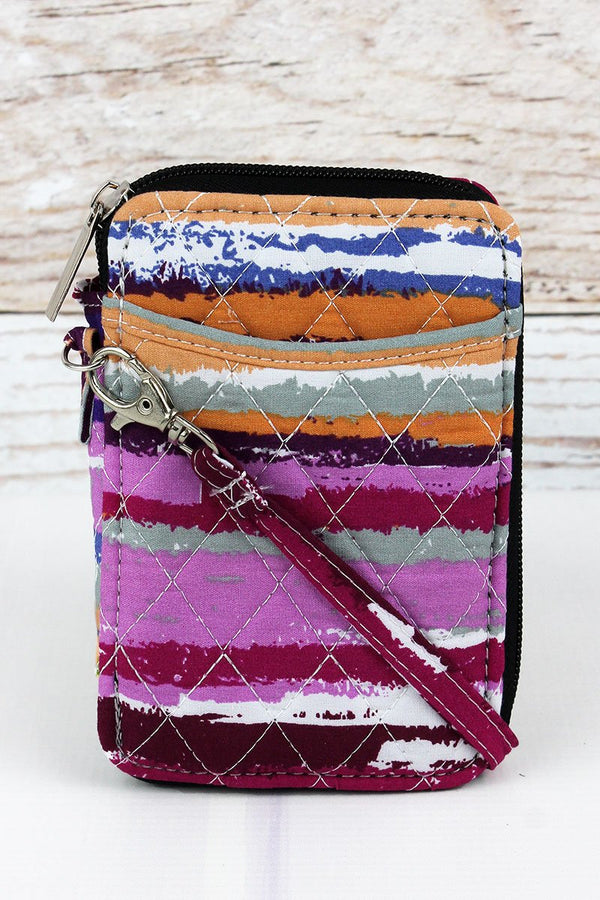 On The Horizon Quilted Wristlet