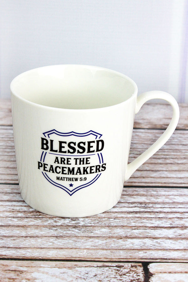 Blessed Are The Peacemakers Cafe Mug