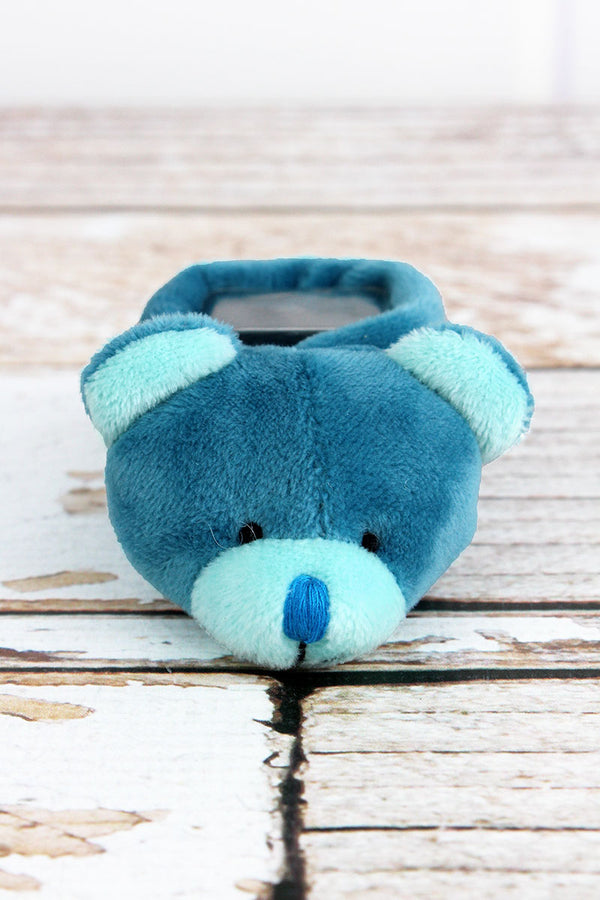 Blue Boo-Bear Comfort Toy