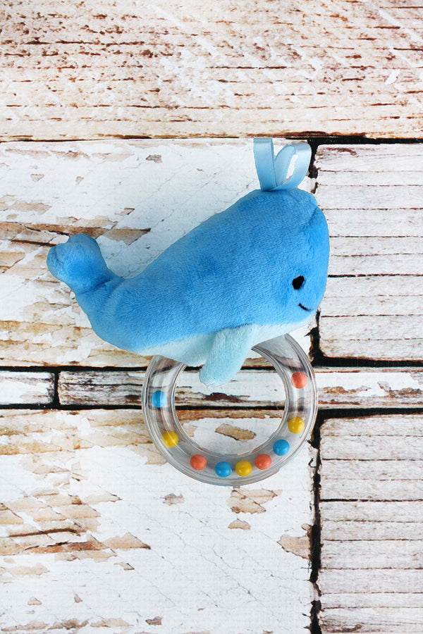 Whale Rattle Teether