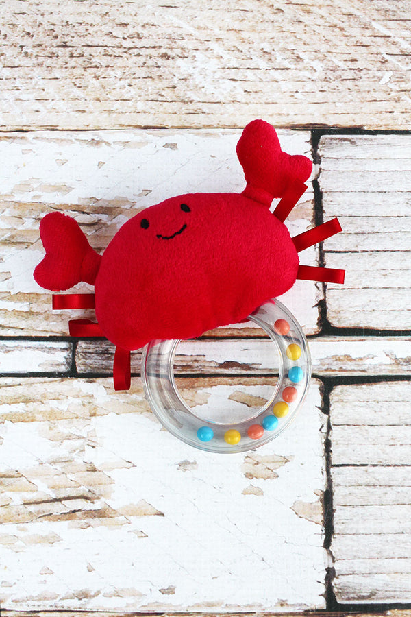 Crab Rattle Teether