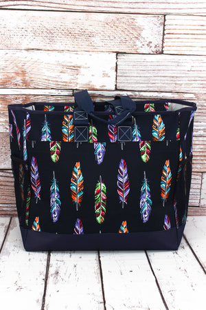 Fancy Feathers Everyday Organizer Tote