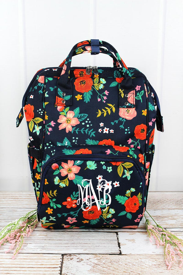 Spring Blossoms Diaper Bag Backpack