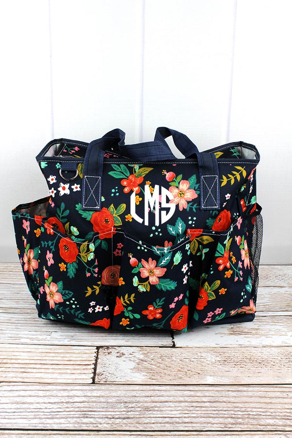 Spring Blossoms Large Organizer Tote