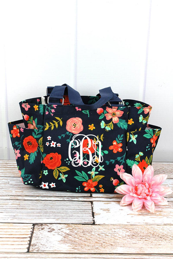 Spring Blossoms Organizer Tote