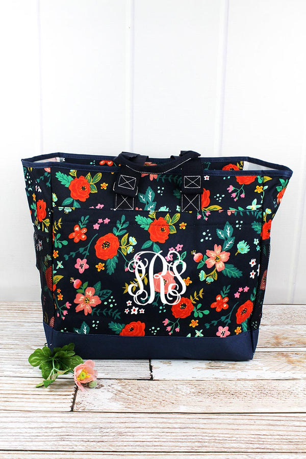 Spring Blossoms Everyday Organizer Tote