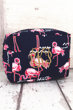 Flamingo Party Cosmetic Case