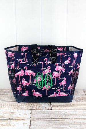 Flamingo Party Everyday Organizer Tote