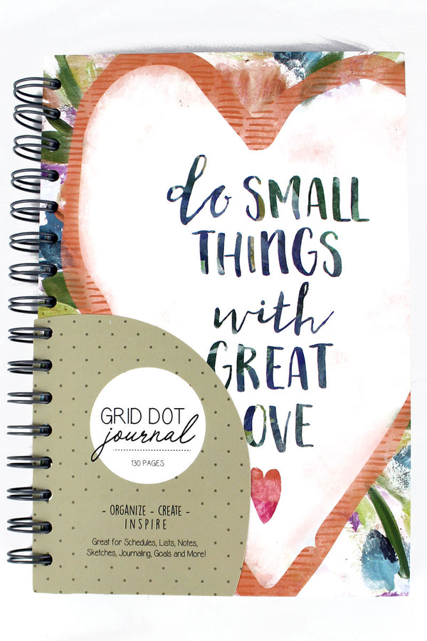 Small Things Grid Dot Journal