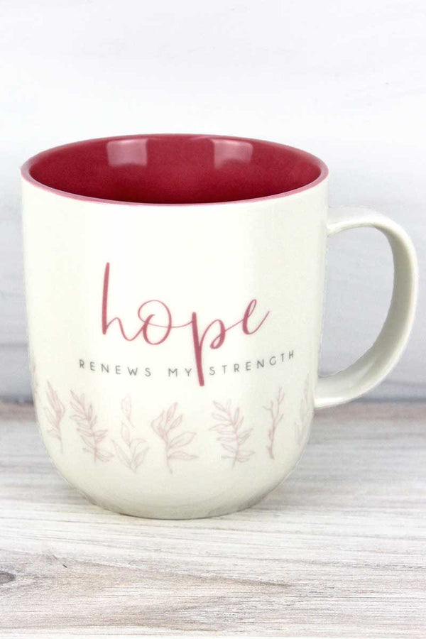 Hope Renews My Strength Mug