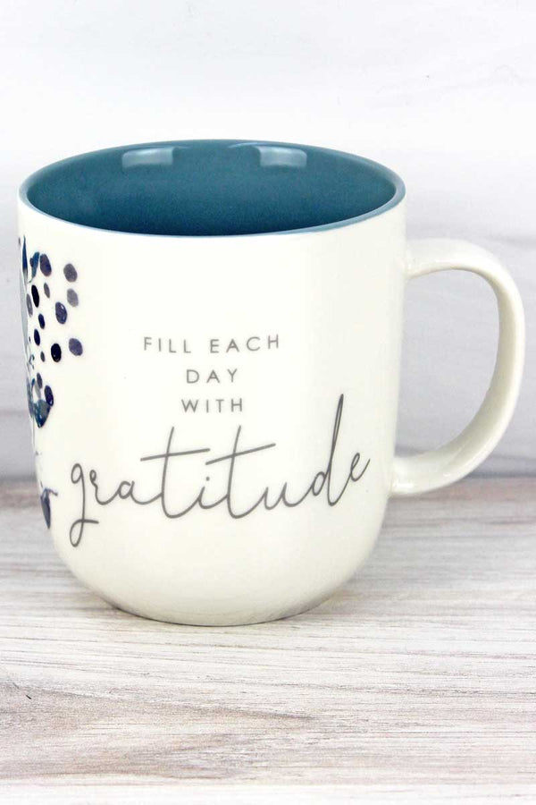Fill Each Day With Gratitude Mug