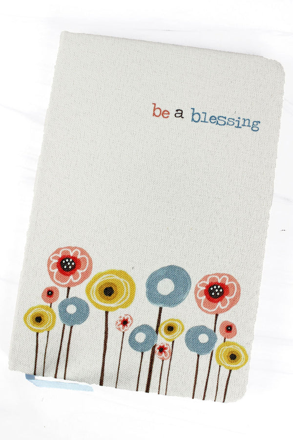 Be A Blessing Linen Journal