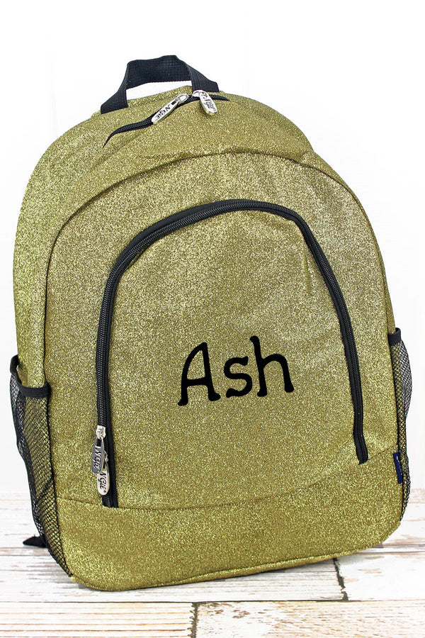Gold Glitz & Glam Large Backpack