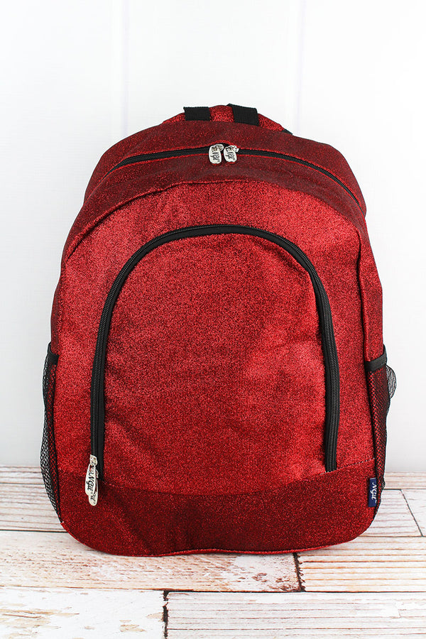 Red Glitz & Glam Large Backpack