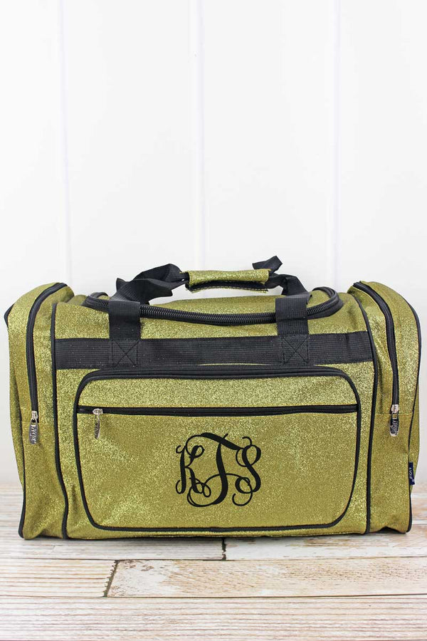 Gold Glitz & Glam Duffle Bag 20""