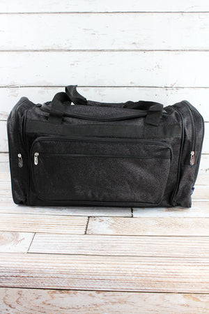 Black Glitz & Glam Duffle Bag 23""