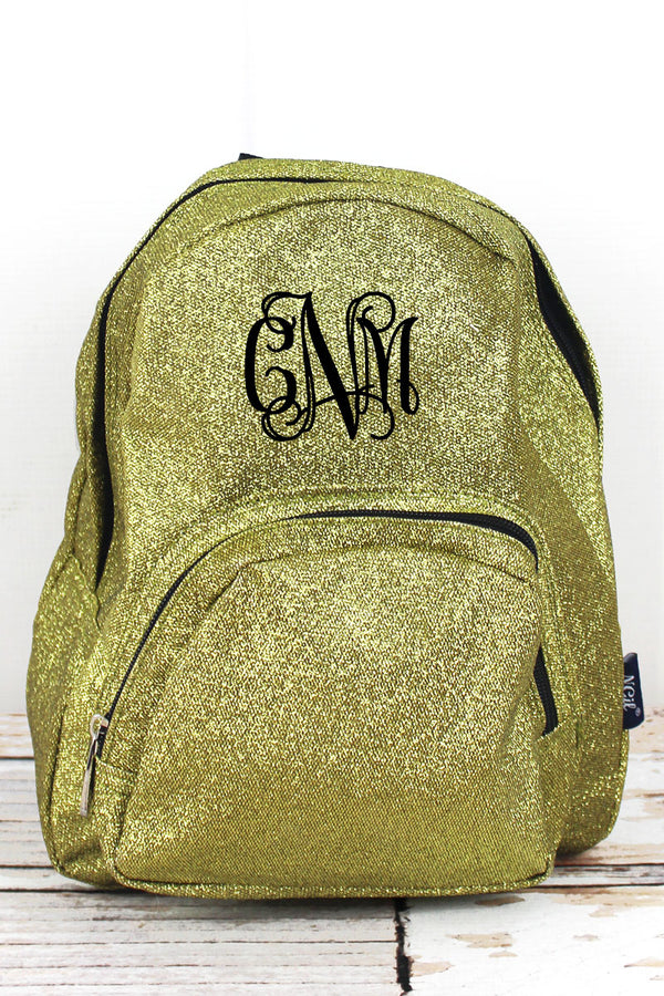 Gold Glitz & Glam Small Backpack