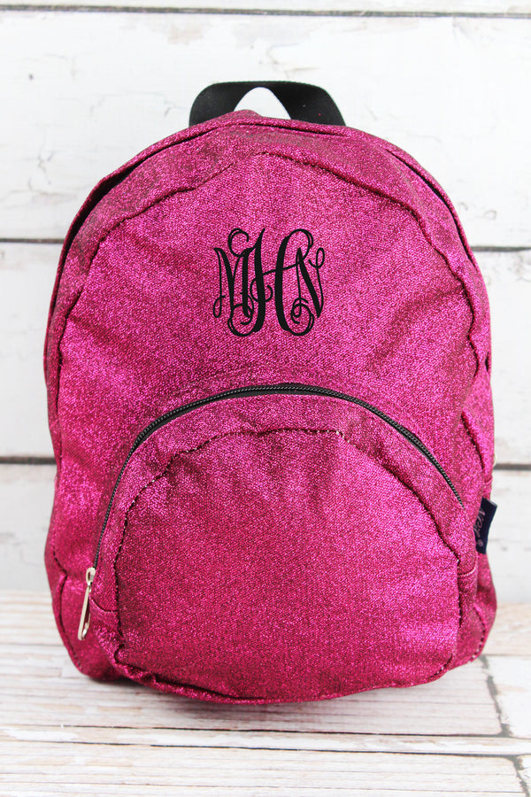 Hot Pink Glitz & Glam Small Backpack