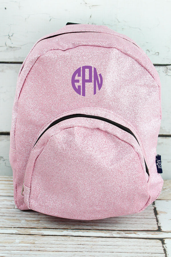 Pink Glitz & Glam Small Backpack