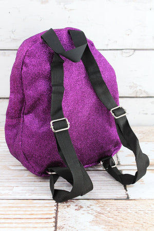 Purple Glitz & Glam Small Backpack