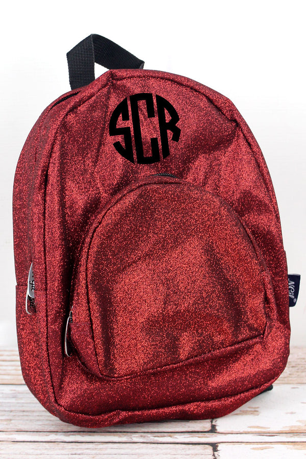 Red Glitz & Glam Small Backpack