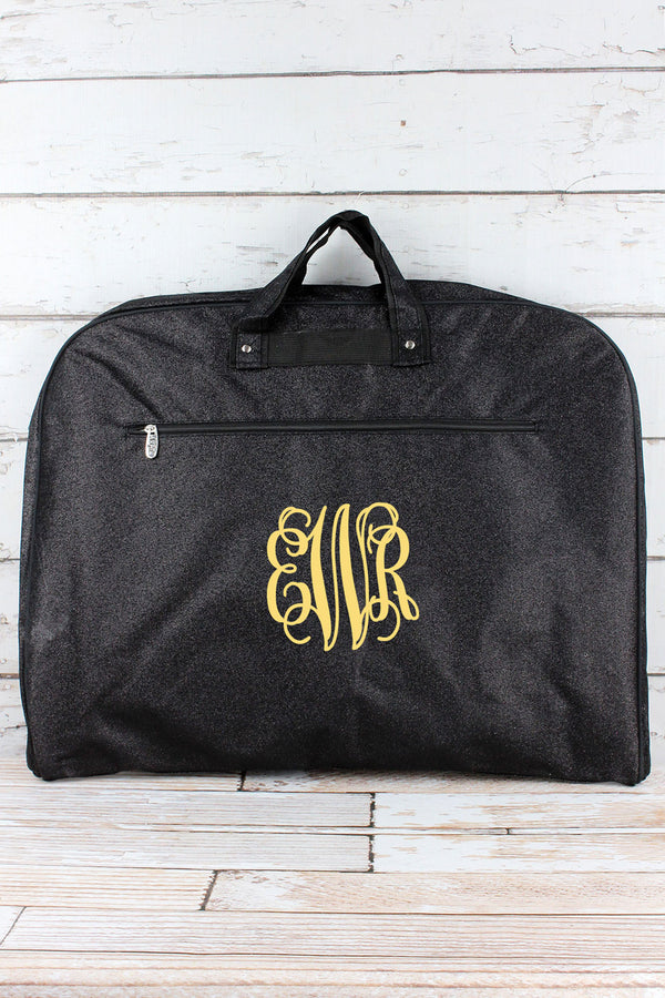 Black Glitz & Glam Garment Bag