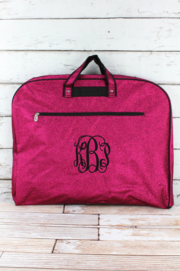 Hot Pink Glitz & Glam Garment Bag