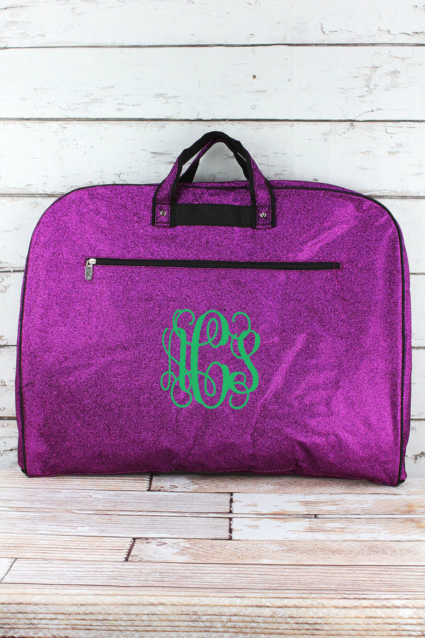 Purple Glitz & Glam Garment Bag