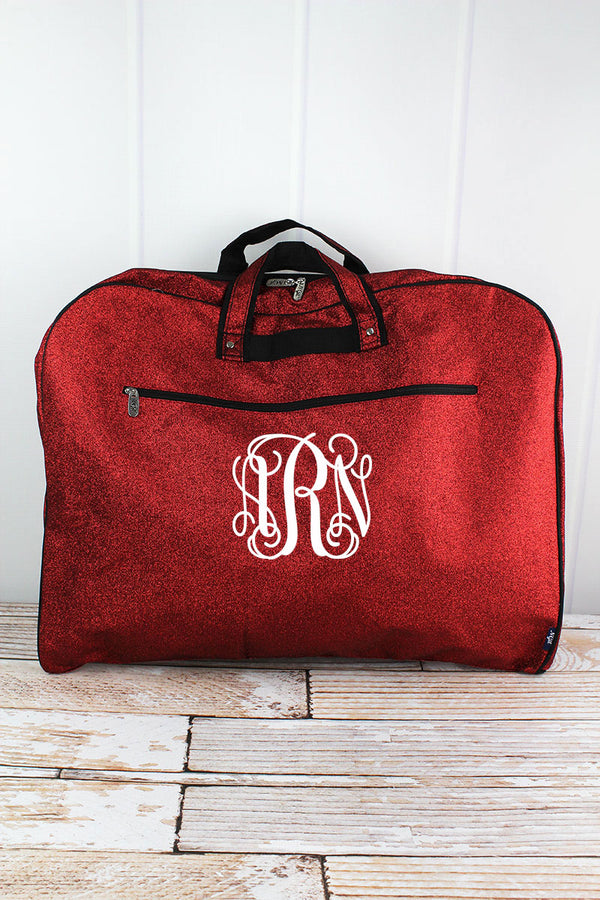Red Glitz and Glam Garment Bag