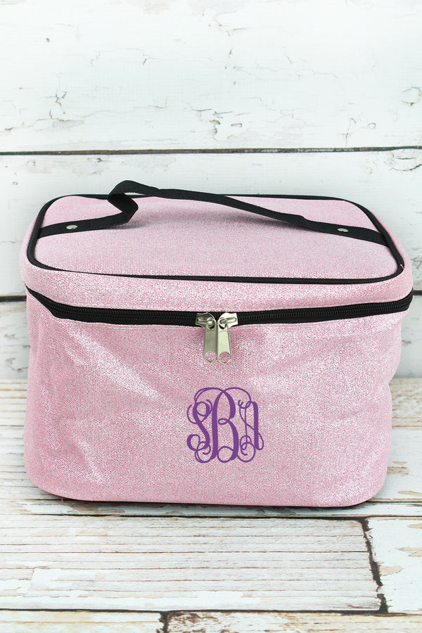 Pink Glitz & Glam Train Case