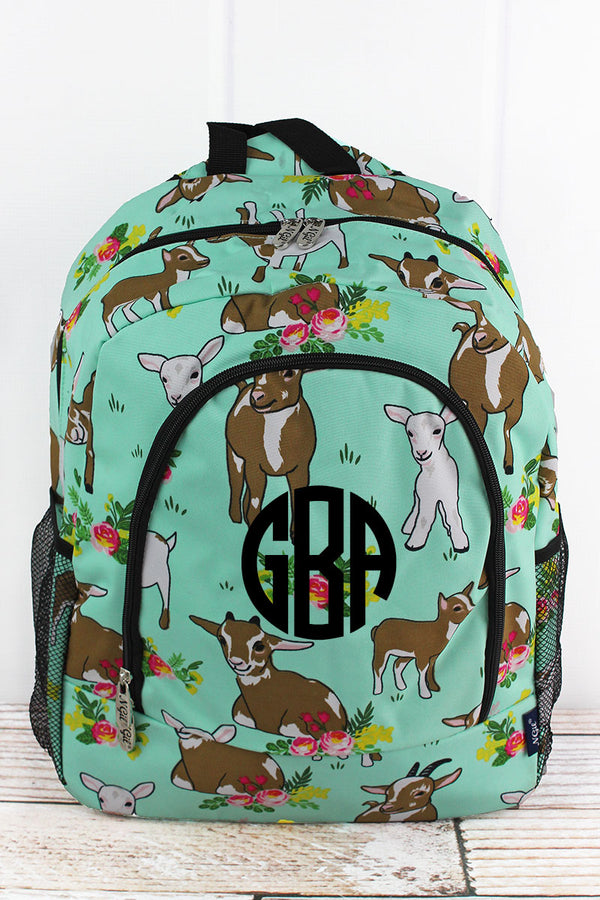 Giddy Goats Large Backpack