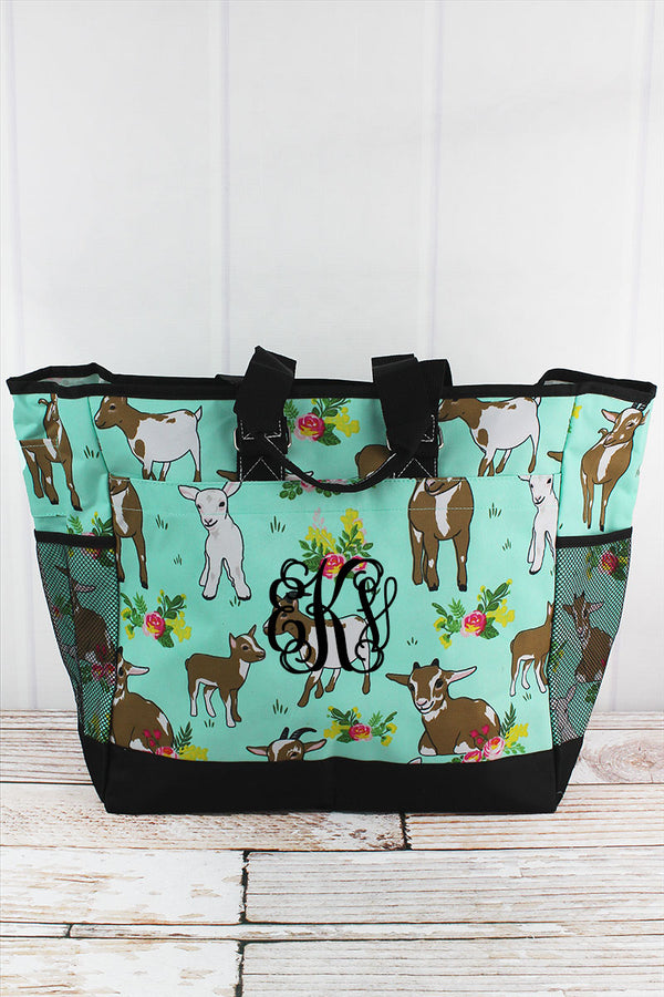 Giddy Goats Everyday Organizer Tote