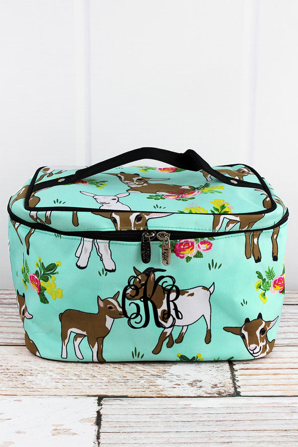 Giddy Goats Train Case