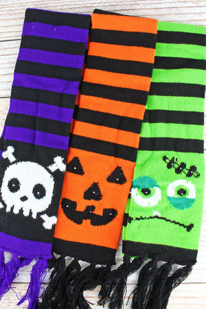 One Halloween Light-Up Knit Scarf - SHIPS ASSORTED