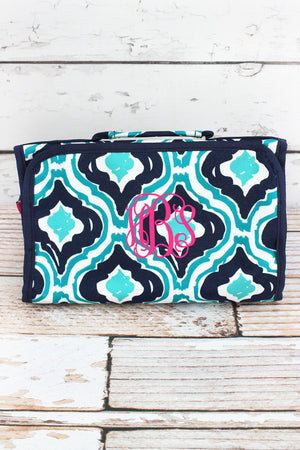 Retro Moroccan Roll Up Cosmetic Bag