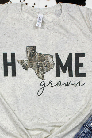 Texas Home Grown Tri-Blend Short Sleeve Tee