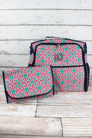 Moroccan Swirl Diaper Backpack