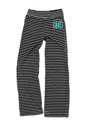 Black Stripe Margo Pant #J15BS *Personalize It