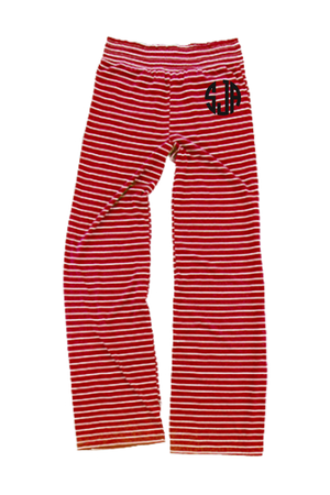 Red Stripe Margo Pant #J15RS *Personalize It