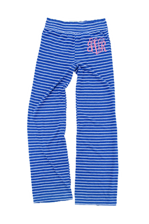Royal Stripe Margo Pant #J15YS *Personalize It