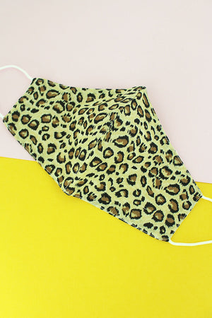 On The Move Leopard Two-Layer Fashion Face Mask