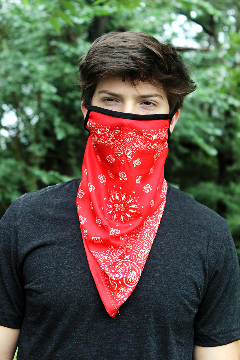 Elephale Neck Gaiter Face Mask Bandana Summer Neck Cover Scarf Sun UV Protection Dustproof Breathable Running Cycling