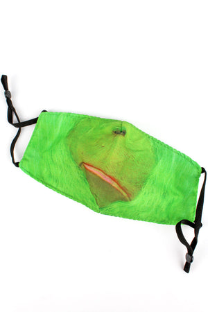 Kid's The Grinch Fashion Face Mask with Quilted Filter Pocket