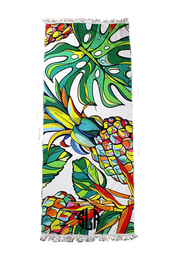 Pineapple Pizzazz Beach Towel