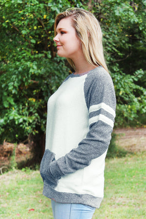 Boxercraft Cozy Contrast Pullover *Personalize It