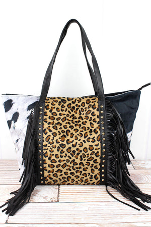 Born To Be Wild Tassel Tote