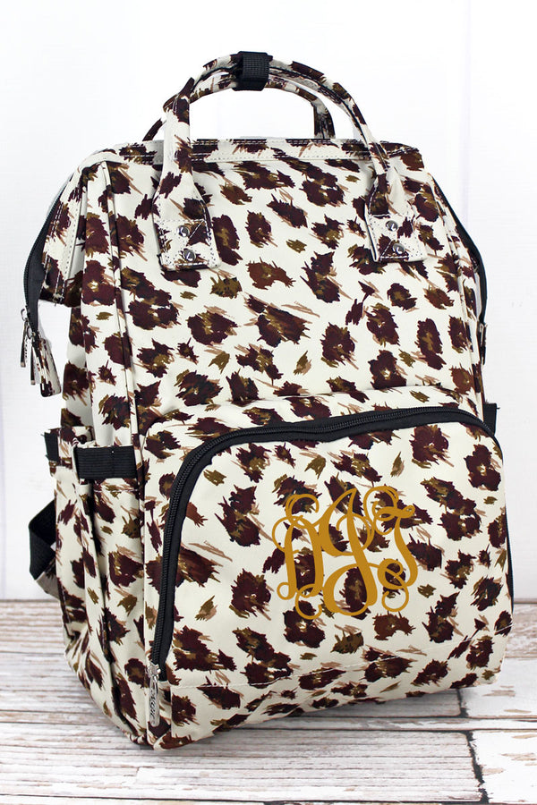 Feline Frenzy Diaper Bag Backpack