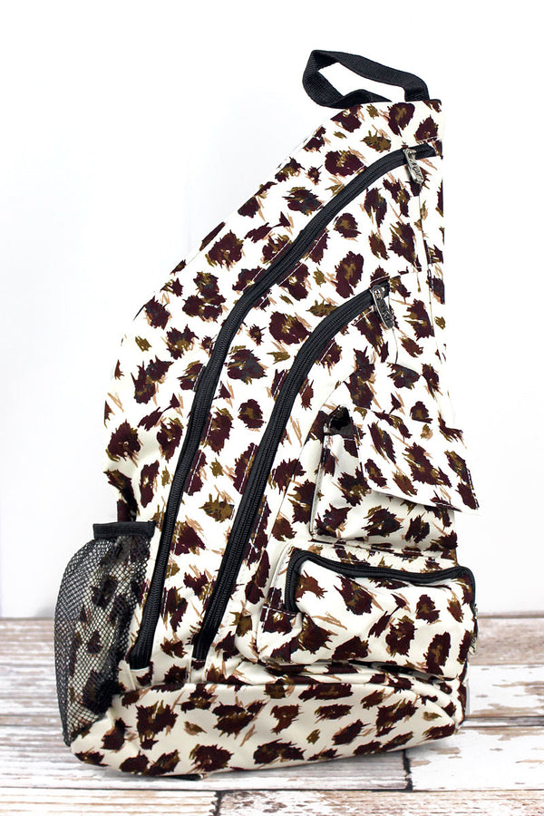 Feline Frenzy Sling Backpack