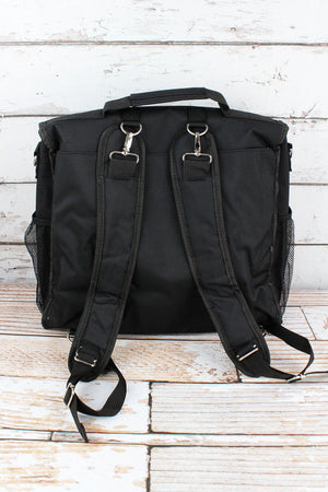 Black Diaper Backpack