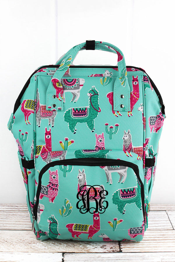 No Prob-Llama Diaper Bag Backpack